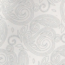 Ascot Paisley Nuance Weiß
