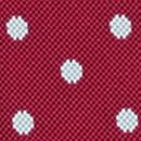 Rote Hosenträger mit weißen Polka Dots
