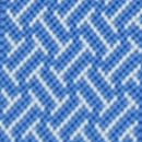Hosenträger Schmal Blau Muster