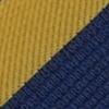 Krawatte Gelb / Blau / Weiß