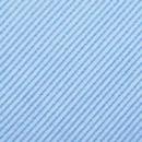 Clip Krawatte Hellblau Repp