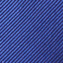 Clip Krawatte Kobaltblau Repp