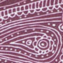 Sir Redman Luxuriöse Hosenträger Paisley Sketch mauve