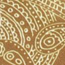 Sir Redman Luxuriöse Hosenträger Paisley Sketch Ocker