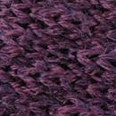 Fliege gestrickt Wolle aubergine