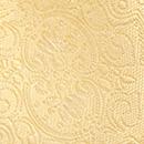 Krawatte Barock weiches Gelb
