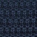 Fliege gestrickt dunkelblau
