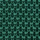 Strickkrawatte Flaschengrün