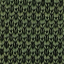 Strickkrawatte Waldgrün