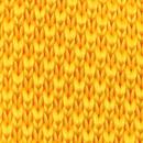 Gelbe Strickkrawatte