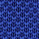Fliege gestrickt Kobaltblau