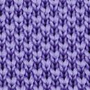 Strickkrawatte Lavendel