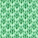 Fliege gestrickt Mintgrün