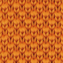 Strickkrawatte Orange
