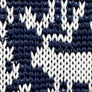 Krawatte Rudolf Rentier blau