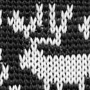 Krawatte Rudolf Rentier schwarz