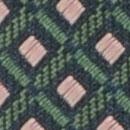 Krawatte Muster Grün Rosa