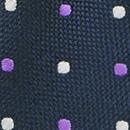 Krawatte Preston Points blau