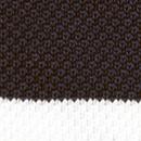 Strickkrawatte Schwarz mit Streifen
