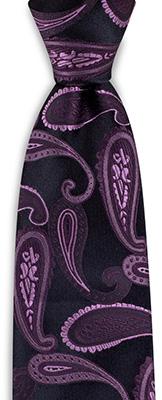 Krawatte Soft Paisley